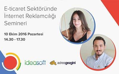 e-ticaret sektöründe internet reklamcılığı semineri