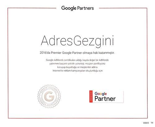 google-premier-partner-belgesi