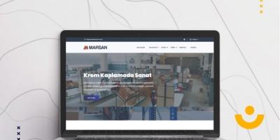Marsan Krom Web Sitesi Yayında