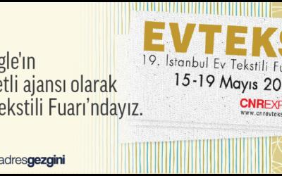 Evtex - Ev Tekstili Fuarı - AdresGezgini