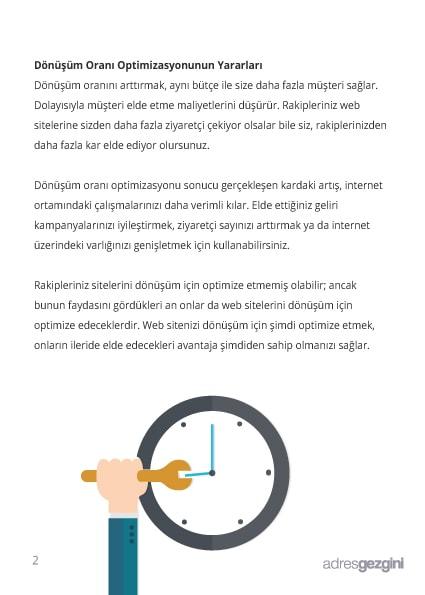 Dönüşüm Oranı Optimizasyonunun Yararları - Adresgezgini